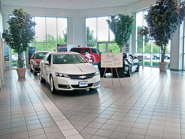 Chevrolet Buick GMC New Car Showroom